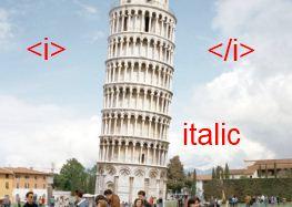 CSS italique
